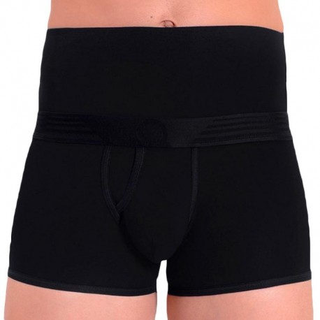 Rounderbum Boxer Basic Slim Fit Padded Noir