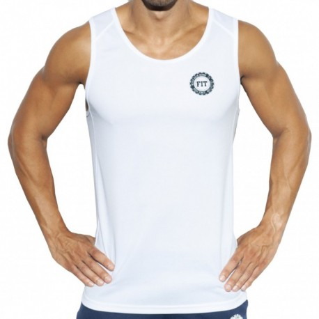 ES Collection Training FIT Tank Top - White