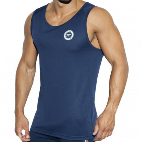 ES Collection Training FIT Tank Top - Navy