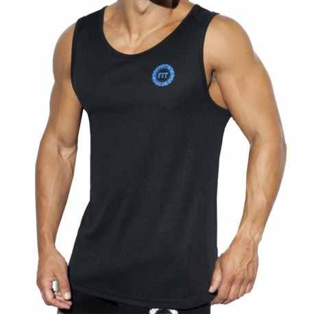 ES Collection Training FIT Tank Top - Black