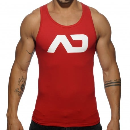 Basic AD Tank Top - Red