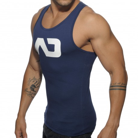 Basic AD Tank Top - Navy