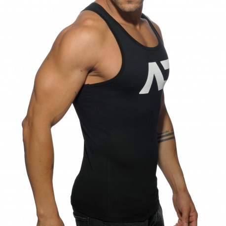 Basic AD Tank Top - Black