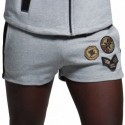 ES Collection Short Sport Padded Army Gris