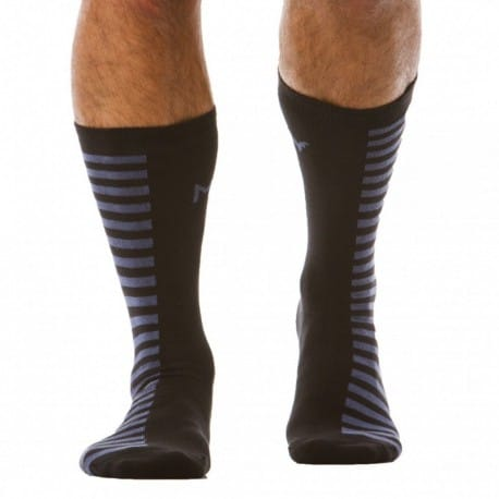 Modus Vivendi HalfNhalf Socks - Blue