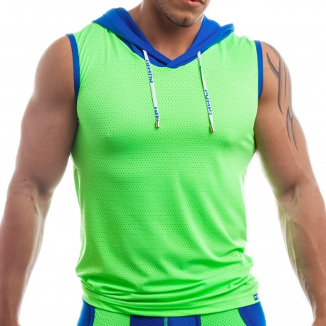 Beach Hood Tank Top - Green