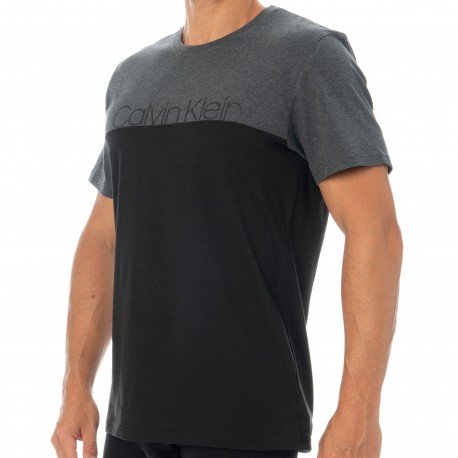 Calvin Klein T-Shirt Modern Cotton Stretch Noir - Anthracite