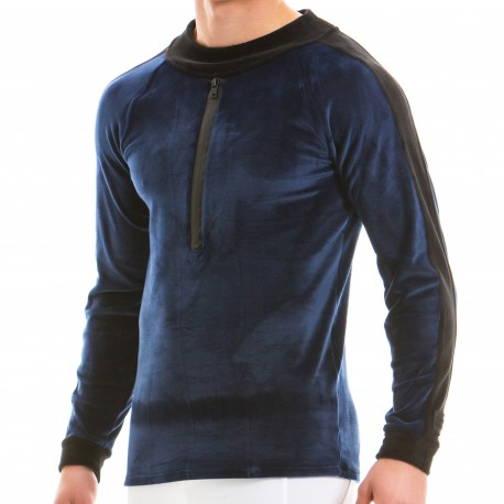 Modus Vivendi Sweat-Shirt Luxury Bleu