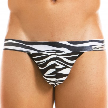 Modus Vivendi Animal Tanga Brief - Zebra