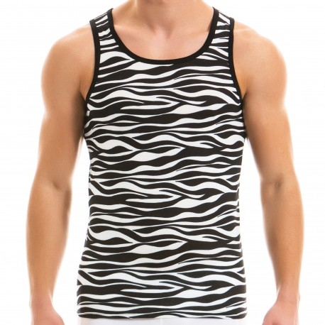 Modus Vivendi Animal Tank Top - Zebra
