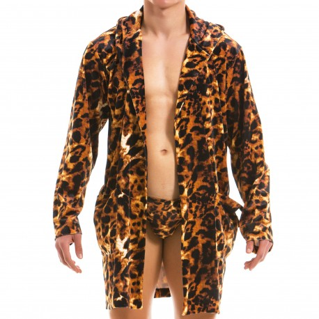 Modus Vivendi Animal Bathrobe - Leopard