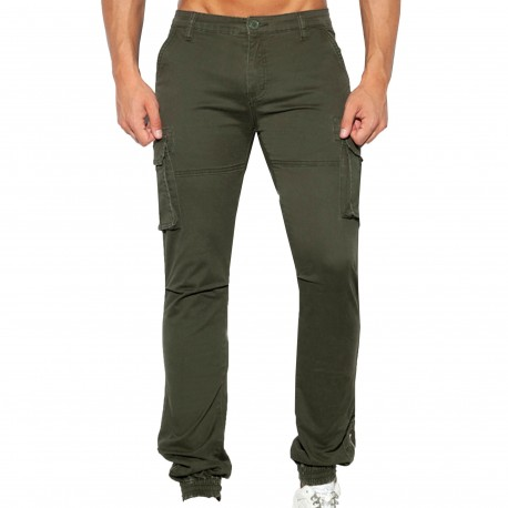 ES Collection Cargo Pants - Khaki