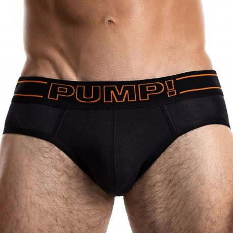 Pump! Slip Nightlight Noir - Orange