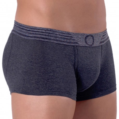 Rounderbum Boxer Court Basic Padded Coton Anthracite