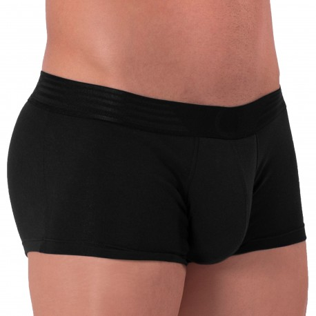 Rounderbum Boxer Court Basic Package Coton Noir
