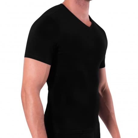 Rounderbum T-Shirt Cotton Compression Noir