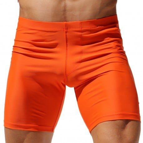 Rufskin Liner Matte Cycle Short - Orange