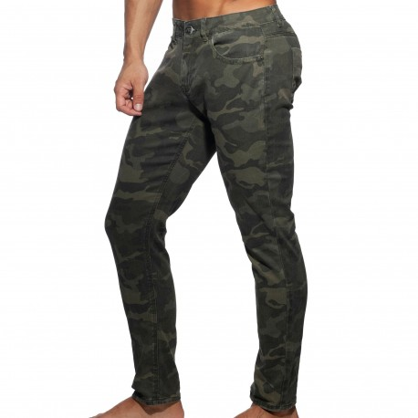 Addicted Jeans Camouflage Kaki