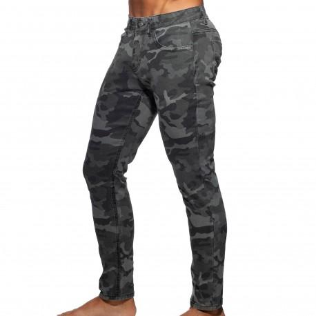 Addicted Camo Jeans - Grey