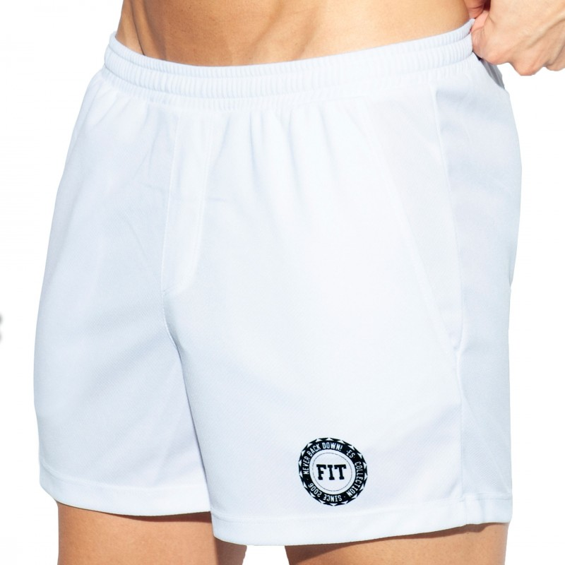 ES Collection Short Training FIT Blanc
