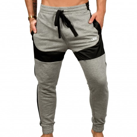 Andrew Christian Vibe Training Pants - Heather Grey
