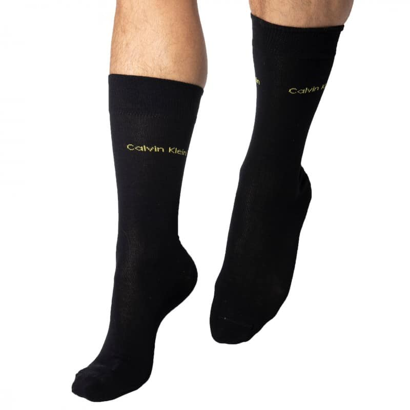 Calvin Klein Gift Box: 5-Pack Teddy Socks - Black