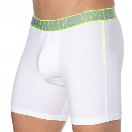 HOM Boxer Long Athletics Blanc