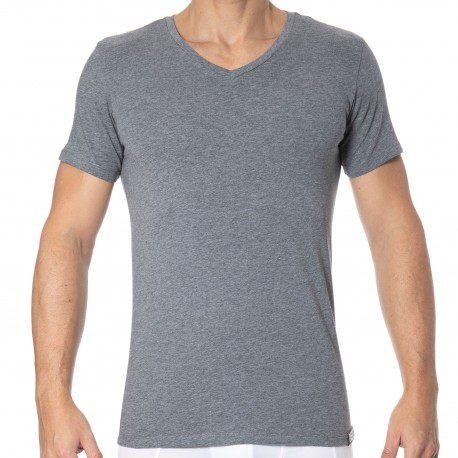 Diesel 3-Pack Basic T-Shirts - Black - Grey - White