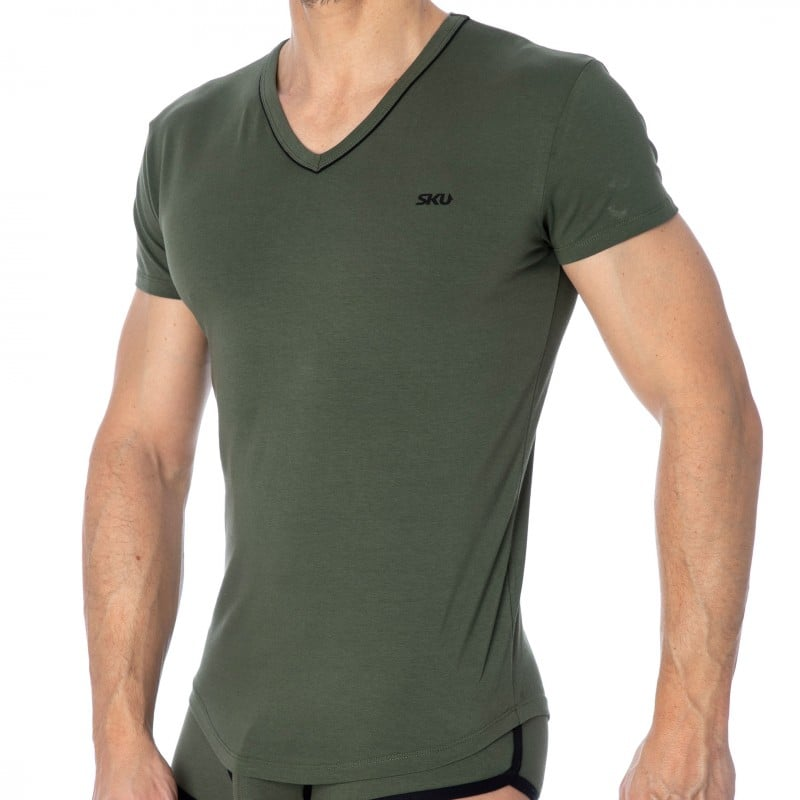 SKU T-Shirt First - Khaki