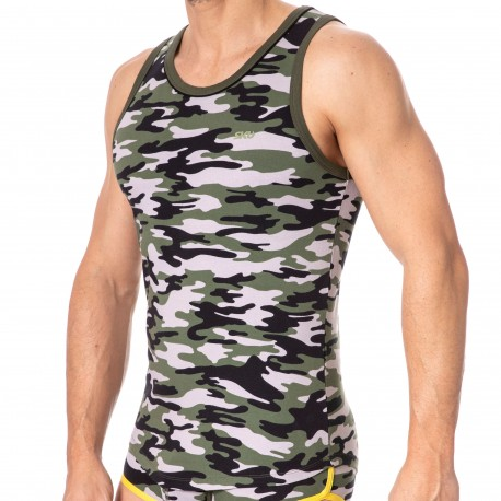 SKU Tank Top First - Camouflage