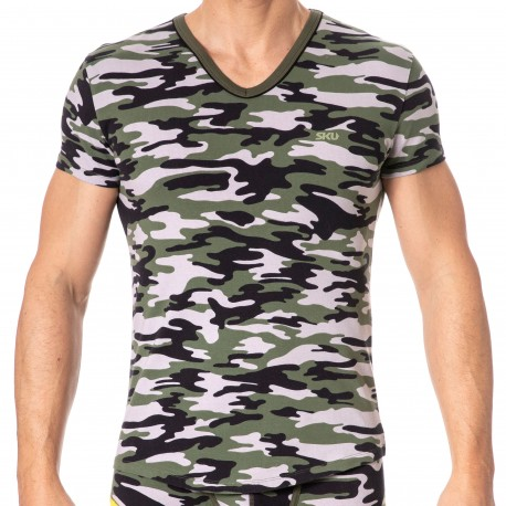 SKU T-Shirt First Camouflage