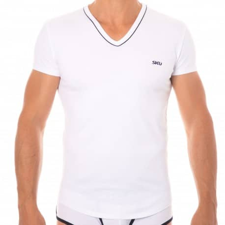 SKU T-Shirt First Blanc