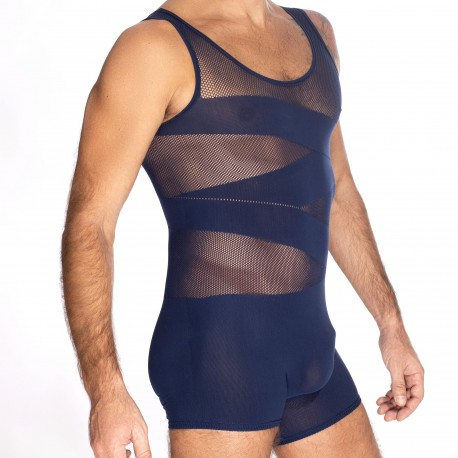 L'Homme invisible Curio Seamless Body - Navy