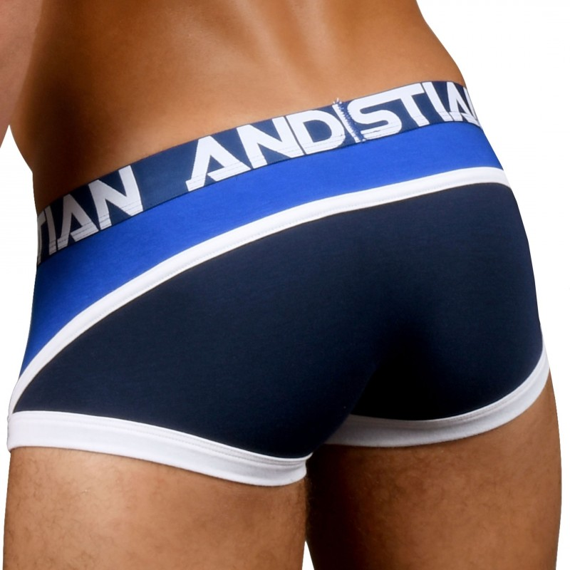 Andrew Christian Boxer Premium Almost Naked Retro Marine - Royal