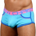 Andrew Christian Boxer Retro Pop Pocket Show-It Turquoise