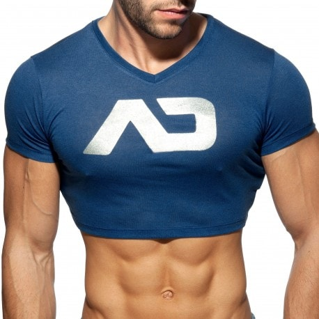 Addicted T-Shirt Crop AD Marine