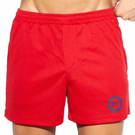 ES Collection Short Training FIT Rouge