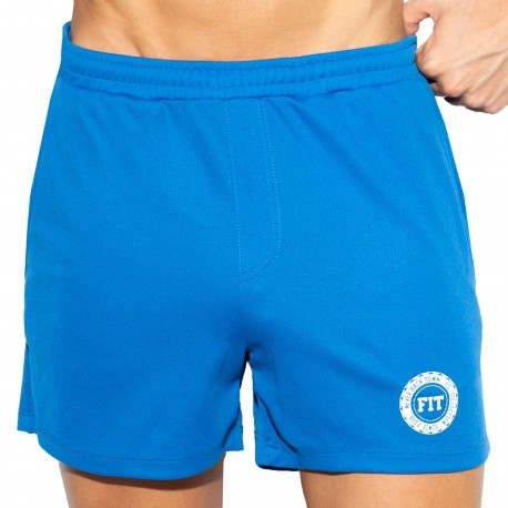 ES Collection Training FIT Shorts - Blue