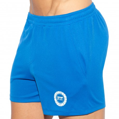 ES Collection Short Training FIT Bleu