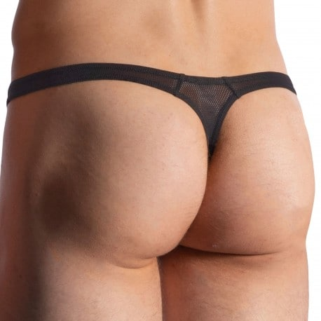 Manstore M957 Tower Thong - Black
