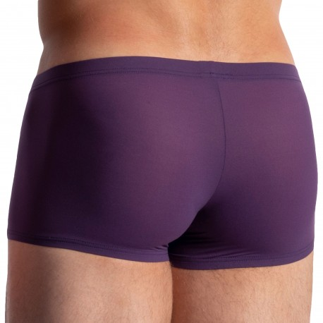 Olaf Benz Boxer Court Minipants RED 0965 Aubergine