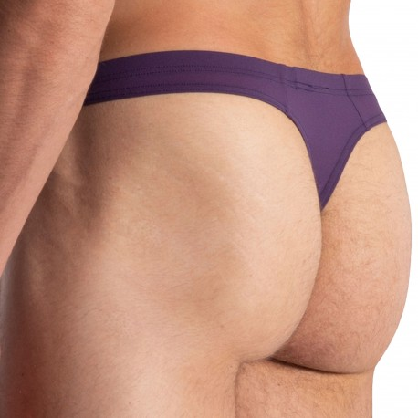 Olaf Benz RED 0965 Mini Thong - Eggplant