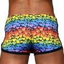 Andrew Christian Short Jogger Love Pride Heart
