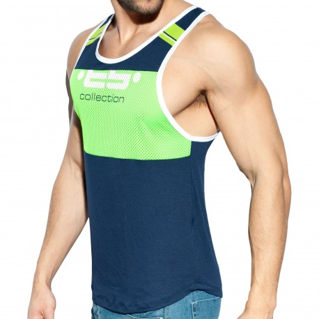 ES Collection Identity Tank Top - Navy