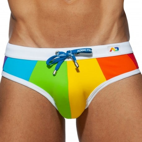 Addicted Slip de Bain Rainbow