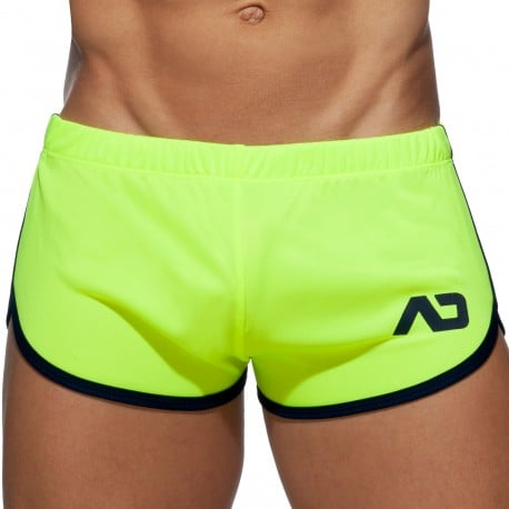 Addicted Short Rocky Ice Cream Jaune Fluo