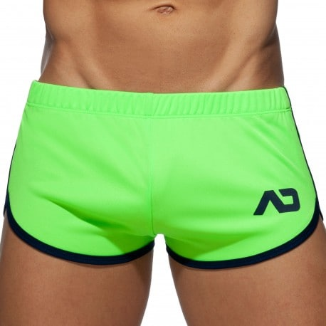 Addicted Ice Cream Rocky Shorts - Neon Green