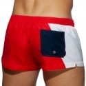 Addicted Short de Bain Racing Side Rouge