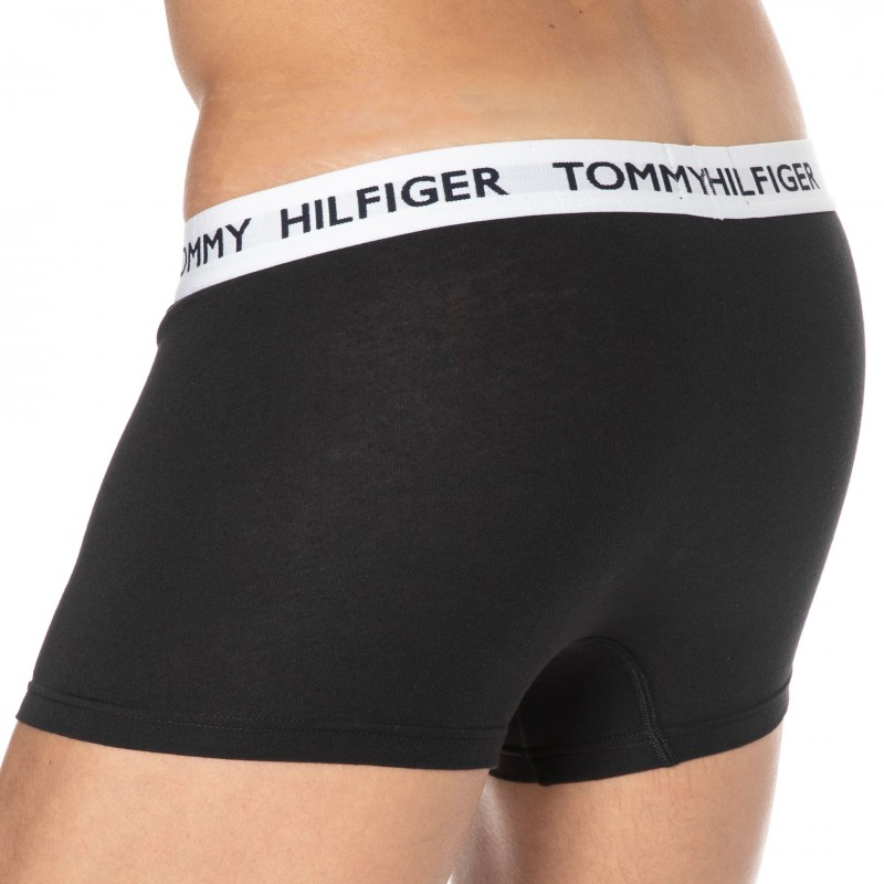 Tommy Hilfiger Tommy 85 Cotton Boxer Briefs - Black