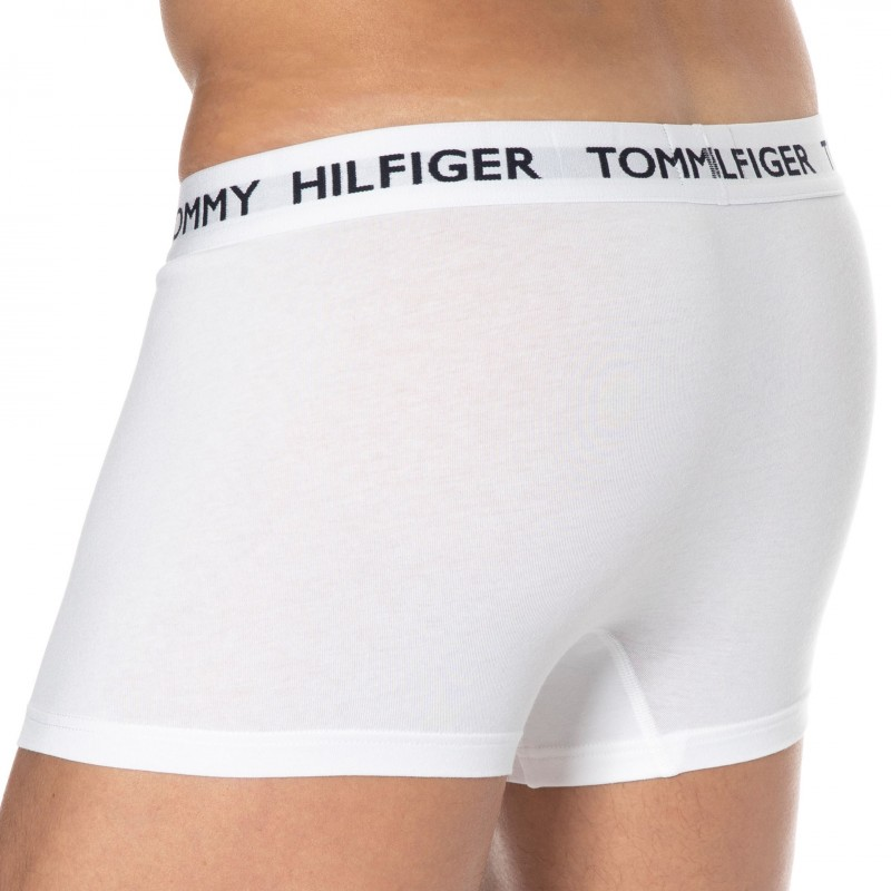 Tommy Hilfiger Boxer Tommy 85 Coton Blanc